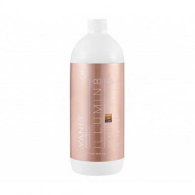 Vani-T Illumin8 Dry Oil Express spray tan voeistof (15% DHA naturel bruine teint) (1 ltr)