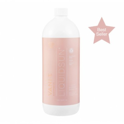 Vani-T Liquid Sun Express Spray Tan Vloeistof 12% (Olive based, koele teint) (1 ltr)