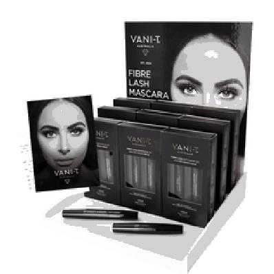 Vani-T Fibre Lash Mascara Extension Kit (zwart)
