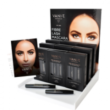 Vani-T Fibre Lash Mascara Extension Kit (zwart)